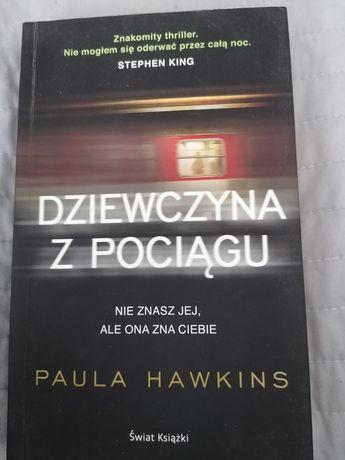 Książka Dziewczyna z pociągu PAULA Hawkins literatura kryminalna