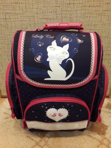 Рюкзак портфель детский школьный ортопедический ZIBI (Lady Cat)