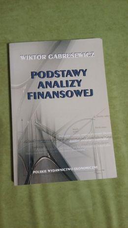 Podstawy analizy finansowej W.Gabrusiewicz