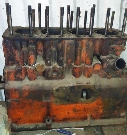 Блок цилиндров на ЮМЗ д65