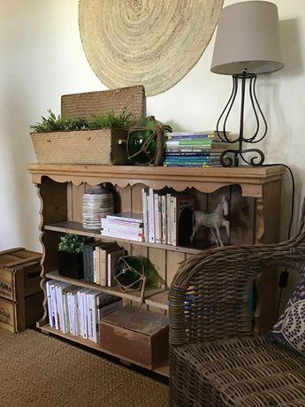 estante, livreiro, prateleiras, casquinha, vintage, rustico