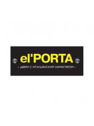 """Входные двери. """"el*PORTA""""Акция, при покупке двери-коврик в подарок!"""