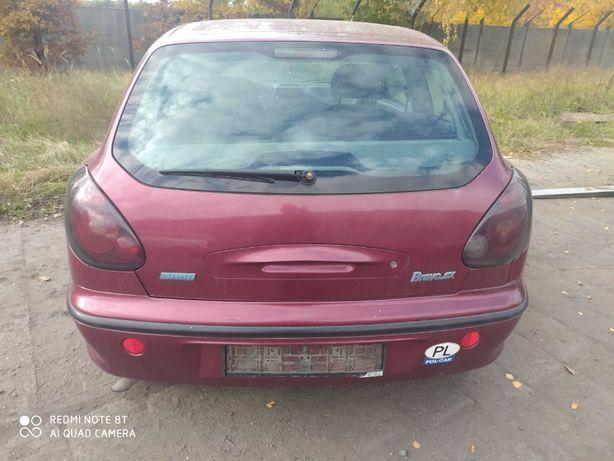 Fiat bravo zderzak tył.