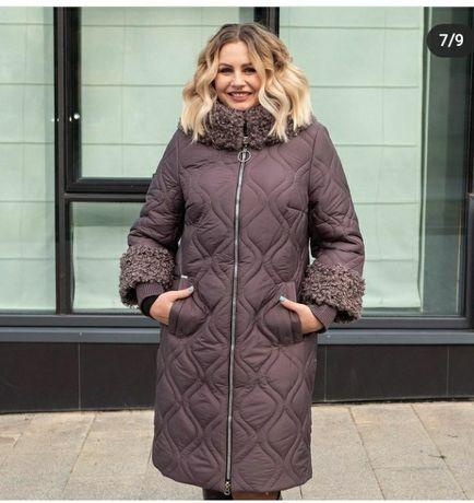 Продам модный женский пуховик (пальто)