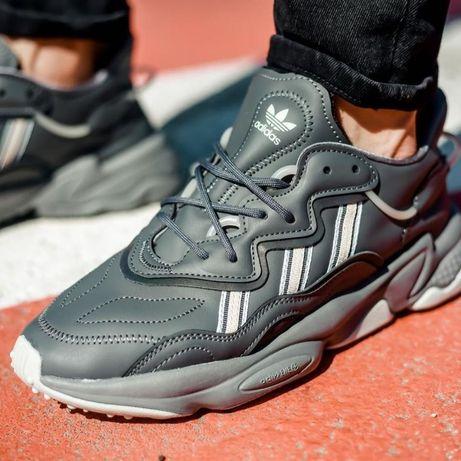 Кроссовки Мужские Adidas Ozweego Grey Four/Silver Adidas Yeezy 700