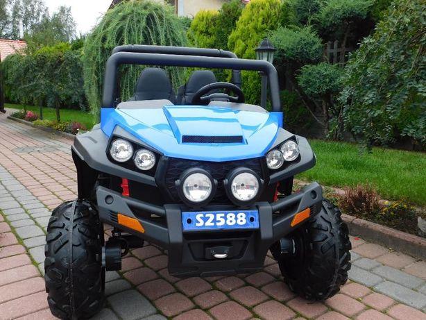JAREX Samochód elektryczny -NAJWIĘKSZE osobowe Auto na Akumulator 4x
