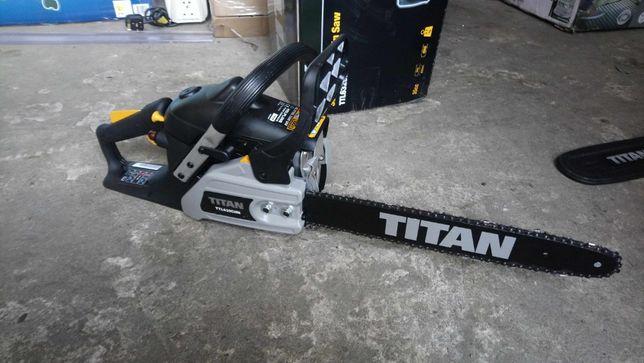 Piła spalinowa Łańcuchowa 35cm3 TITAN model TTL632CHN 1,9KM