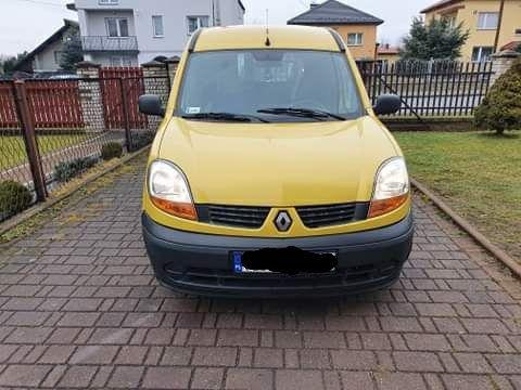 Renault Kangoo ekspres przedłużany