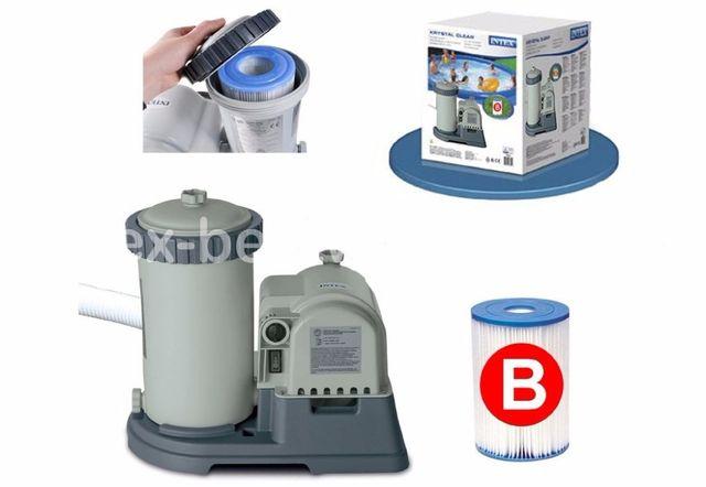 Насос-фильтр Intex Фильтрующий картриджный насос, Насос для фильтрации