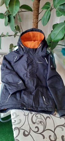 Термо Куртка. Лыжная на 7-8 лет