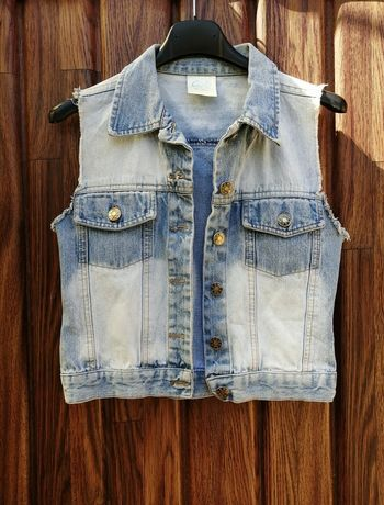 Kamizelka jeansowa XS
