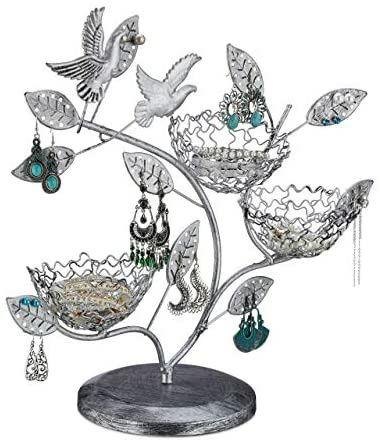 Drzewko ozdobne na biżuterię