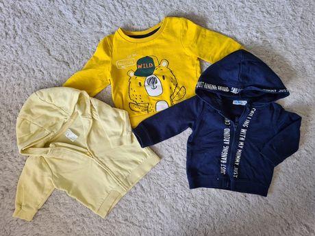 2x bluza zapinana na zamek z kapturem H&M / bluza zakładana przez głow