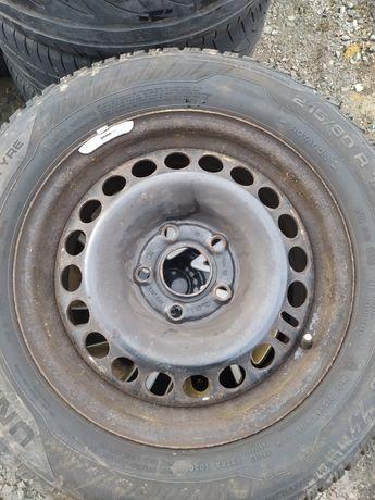 Komplet felg stalowych 16 cali Insignia 6.5Jx16et41 5x120 BMW stal
