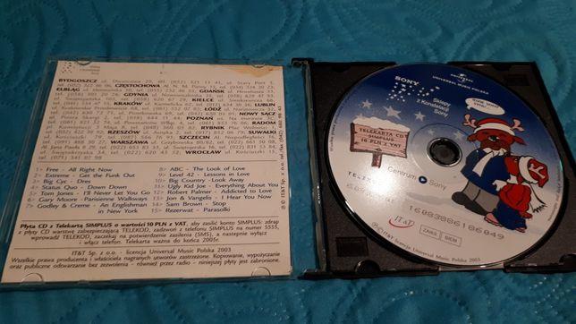 Płyta składanka sony