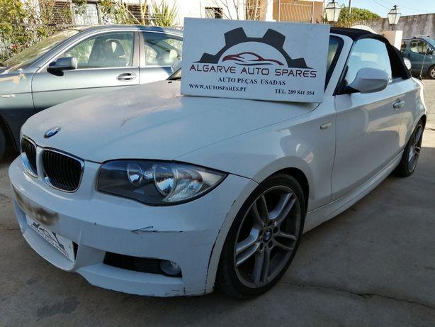 BMW 118d E88 2010 Para Peças