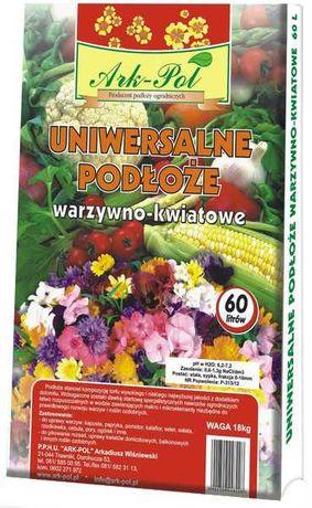 Ziemia podłoże uniwersalne do warzyw i kwiatów 60l