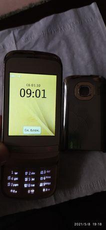 телефон Nokia C2-06  Сенсорный, 2 сим карты