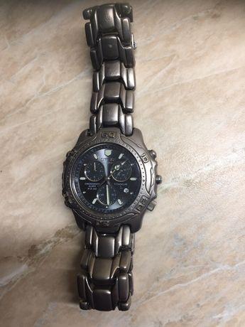 Настоящие японские часы Citizen Promaster titanium