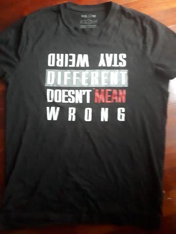 T-shirt męski czarny Big Star S