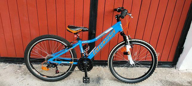 Rower młodzieżowy 24 KROSS. Rama aluminiowa. Stan super.