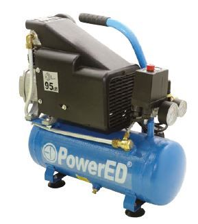 Compressor de Ar comprimido portátil 6 litros saída directa