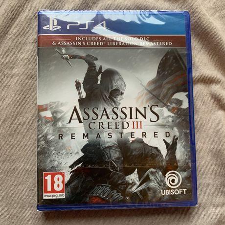 Игра приставка Ps4 Assassins Creed 3 Remastered