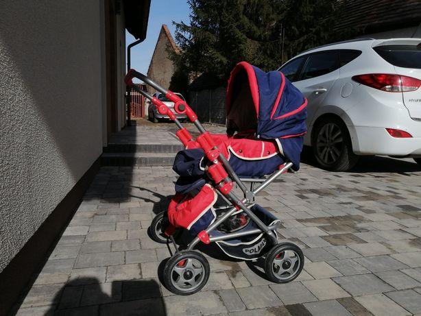 Wózek dla dziewczynki.