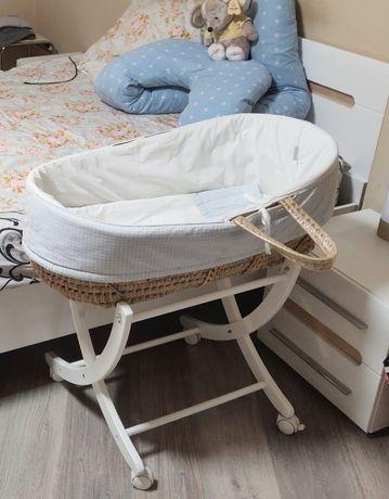 Люлька - корзина - колыбель для младенцев
