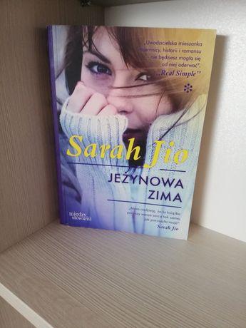 Jeżynowa zima Sarah Jio książka obyczajowa literatura kobieca