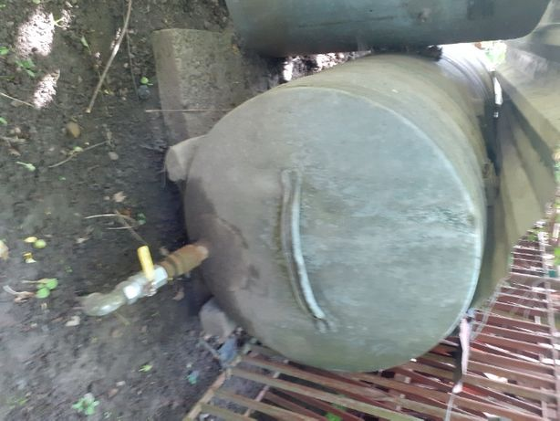 Beczka stalowa ocynk 1000l , na deszczówkę