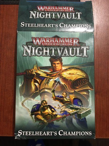 Warhammer Underworlds - karty steelheart's champions