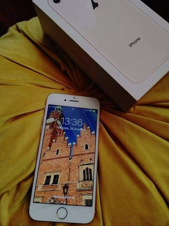 apple iPhone 8 64gb rose gold apple airpods