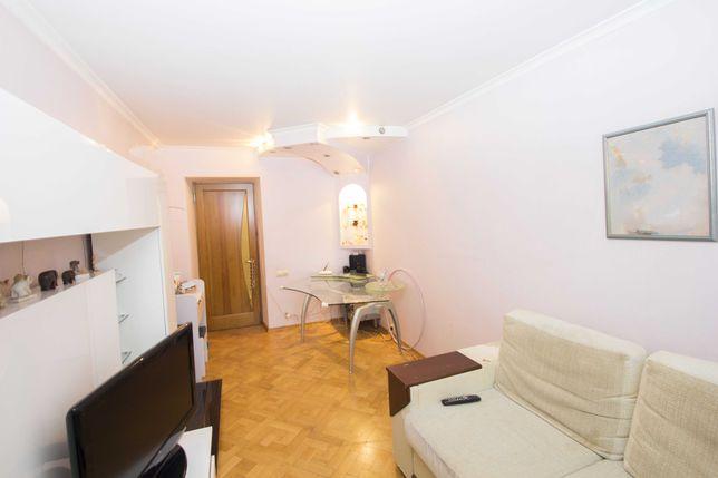 2-ком. просторная квартира в центре!АГВ/кухня-студия/большой балкон!