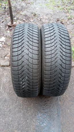 Резина 2шт зима r15 195/60 Пара Michelin