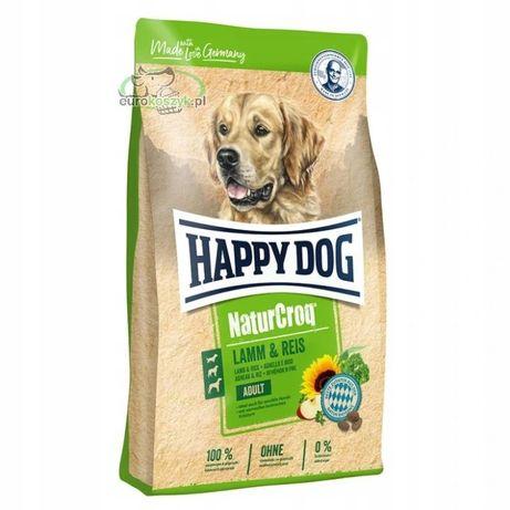 Karma Happy Dog NaturCroq Jagnięcina i ryż 15+3kg GRATIS