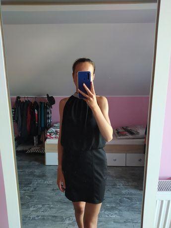Czarna mini