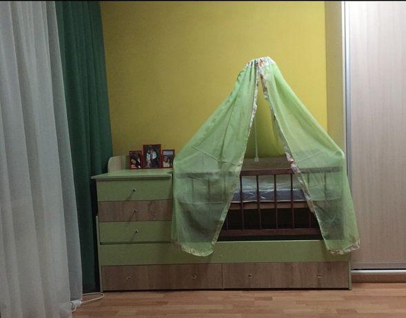 Кровать 3 в 1. Люлька ліжко