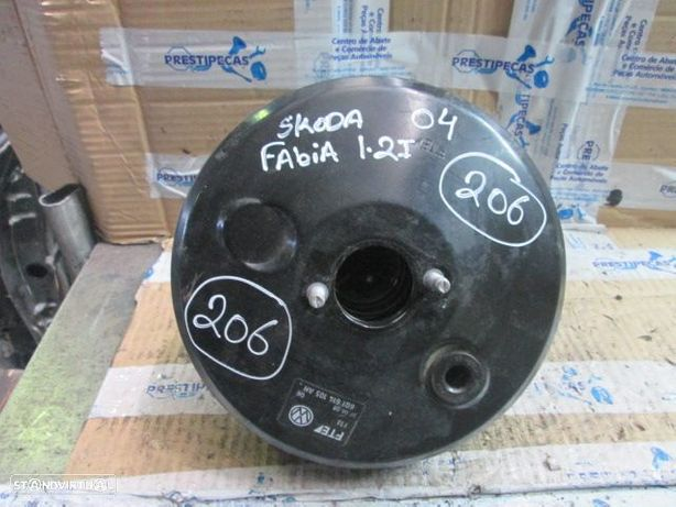 Servofreios 555 SKODA FABIA vw polo 6Q1614105AH SKODA / FABIA / 2004 / 1.2 I / GASOLINA / VW / POLO / 2007 / 1.4 TDI / DIESEL / SEAT / IBIZA / 2007 / 1.4 TDI / DIESEL / VW / POLO / 2009 / 1.4TDI / DIESEL /