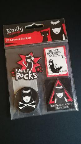 Emily the Strange - autocolantes 3d layered stickers