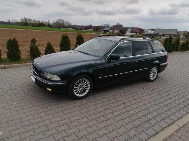 BMW 5 E39 touring, 530d 184km, 1999r, zadbana