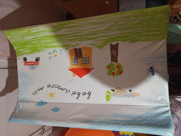 Пеленальний стіл з ванночкою CAM il mondo del bambino