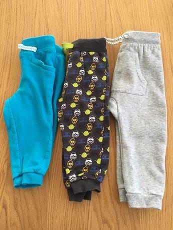 Spodnie dresowe baggy legi legginsy lupilu i pepco 74 80
