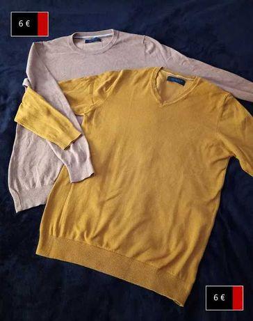 Roupa para o frio - Camisolas de lã e Cachecóis, e um Suéter Novo
