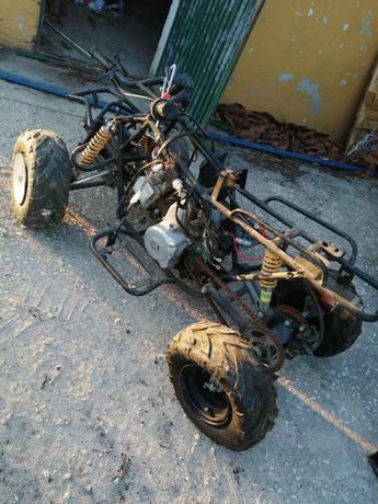 Tenho mini moto 4