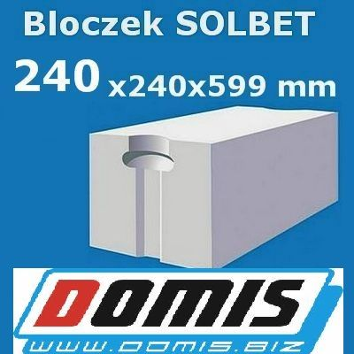 Solbet 24 P+W beton komórkowy PROMOCJA