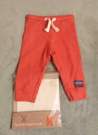 Spodnie dresowe Baby Bear, roz 62-68