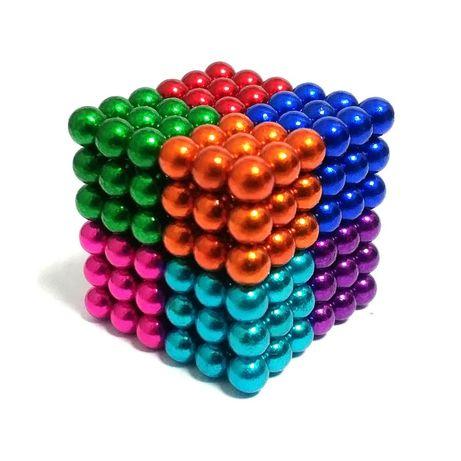 Магнитный конструктор Нео куб Neo Cube цветные шарики 5мм НЕОКУБ