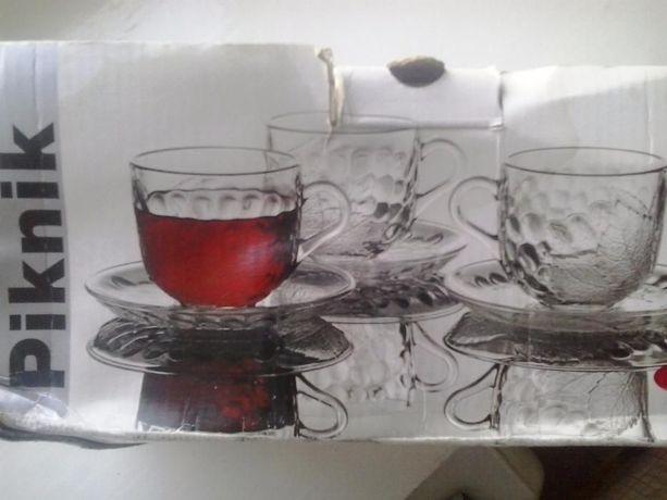 чашка с блюдцем Пикник -набор Новый