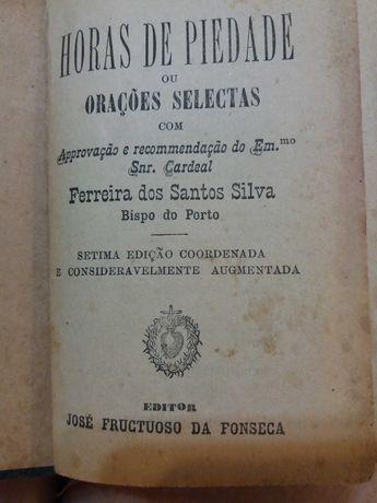Horas Piedade-Orações de Jose Frutuoso  Fonseca 1892/Catecismo Popular